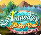 Amanda's Sticker Book: Amazing Wildlife gioco
