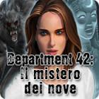 Department 42: Il mistero dei nove gioco