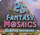 Fantasy Mosaics 25: Wedding Ceremony gioco