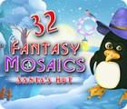Fantasy Mosaics 32: Santa's Hut gioco