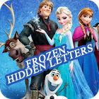 Frozen. Hidden Letters gioco