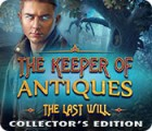 The Keeper of Antiques: The Last Will Collector's Edition gioco