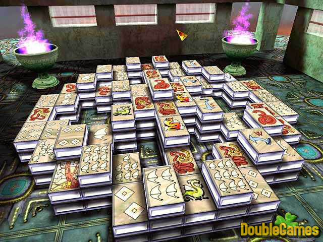 Free download 3D Magic Mahjongg screenshot 1