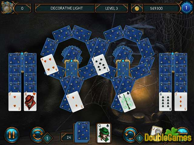 Free download Detective Solitaire: Butler Story screenshot 1