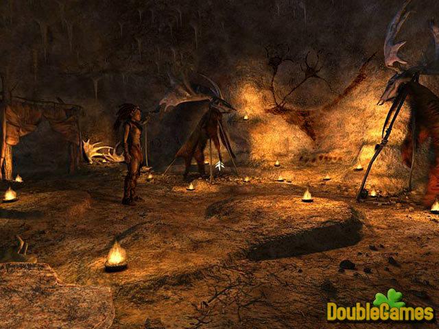 Скриншот из игры Echo: Secrets of the Lost Cavern / Эхо : Тайна Забытой
