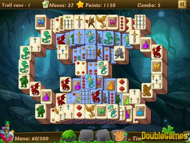 Free Download Elves vs. Goblin Mahjongg World Screenshot 1