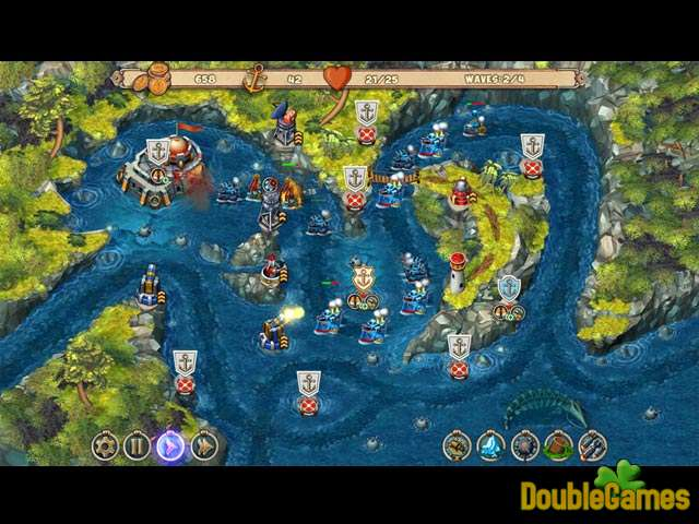 Free Download Iron Sea Defenders Screenshot 1